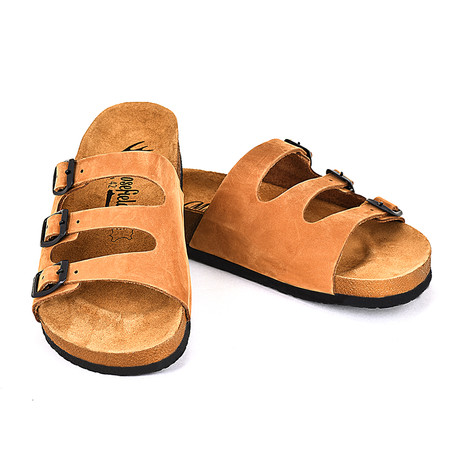 Brendon Sandals // Light Brown (Euro: 40)
