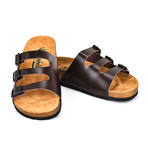 Greyson Sandals // Darkbrown (Euro: 45)