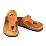Dane Sandals // Light Brown (Euro: 45)