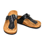 Lukas Sandals // Black (Euro: 42)