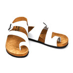 Dangelo Sandals // White (Euro: 40)