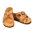 Manuel Sandals // Lightbrown (Euro: 45)