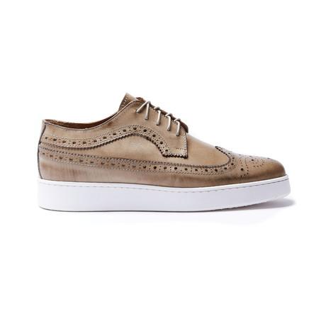 Wing Cap Sneaker // Taupe (Euro: 40)