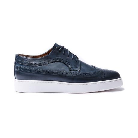 Wing Cap Sneaker // Navy (Euro: 40)