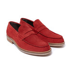 Penny Loafer // Red (Euro: 44)