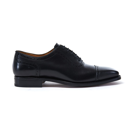 Toe Cap Oxford Goodyear II // Black (Euro: 40)