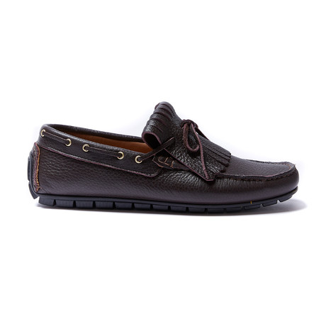 Fringe Moccasin // Dark Brown (Euro: 40)