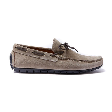 Laces Moccasin // Beige (Euro: 40)