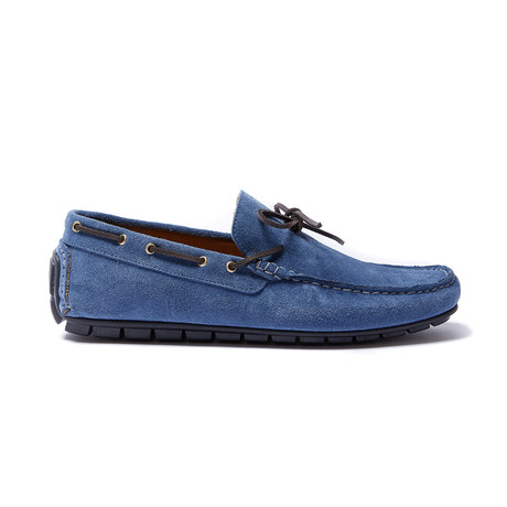 Laces Moccasin // Denim (Euro: 40)