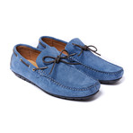 Laces Moccasin // Denim (Euro: 44)