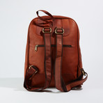 Minimalist Backpack // Medium Brown