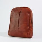 Minimalist Backpack // Medium Brown