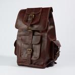 Traveler Backpack // Chestnut Brown