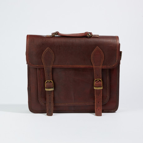 Business Shoulder Bag // Honey
