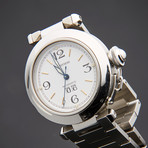 Cartier Pasha C Big Date Automatic // W31044M7 // Pre-Owned