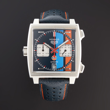 Tag Heuer Monaco Gulf Chronograph Automatic // CAW211R // Pre-Owned
