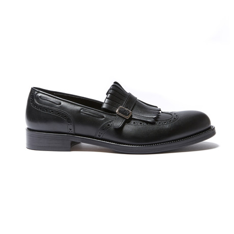 Monk Strap Loafer // Black (Euro: 40)