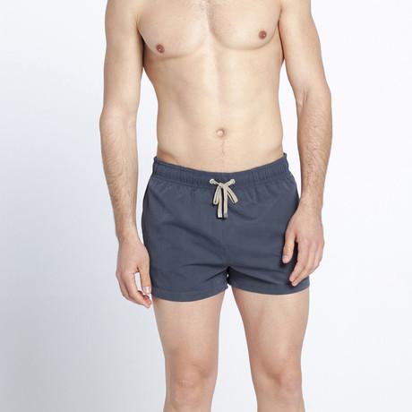 African Gray Swim Shorts (S)
