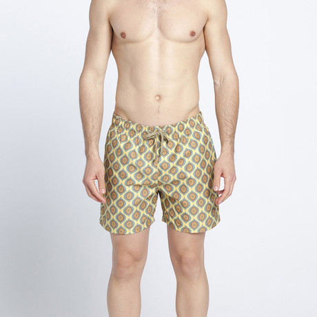 African Shields Swim Shorts (S)