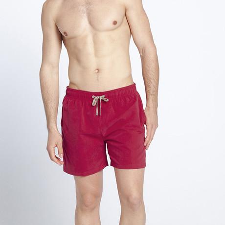 Crimson Swim Shorts (S)