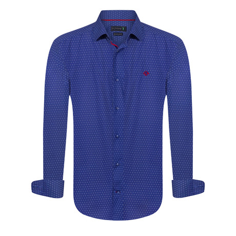 Made Cut Shirt // Royal Blue (XS)
