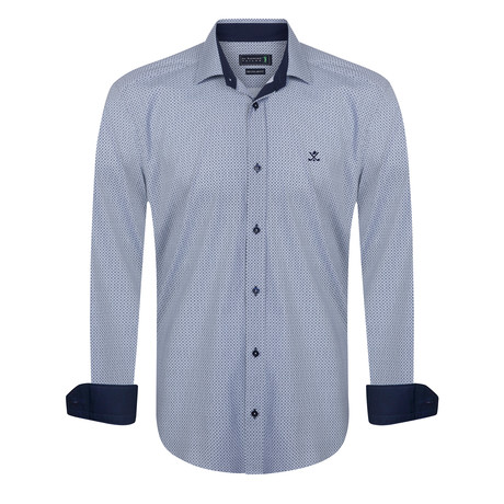 Modified Shirt // Blue (XS)