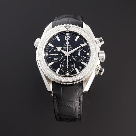 Omega Seamaster Planet Ocean Chronograph Automatic // 222.18.38.50.01.001 // Pre-Owned