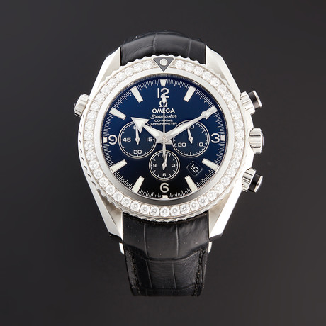 Omega Seamaster Planet Ocean Chronograph Automatic // 222.18.46.50.01.001 // Pre-Owned