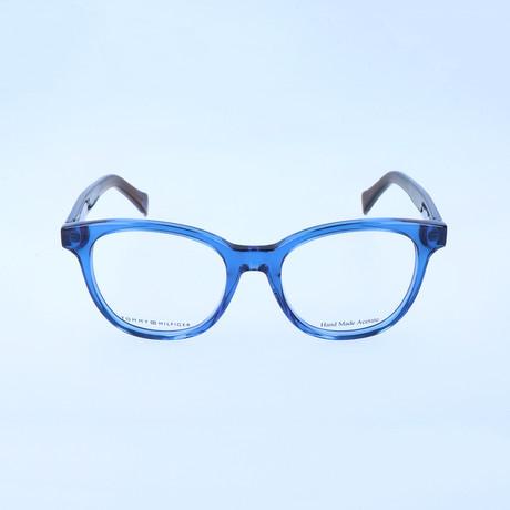 Women's 1311-W8K Optical Frames // Blue Havana + Melange