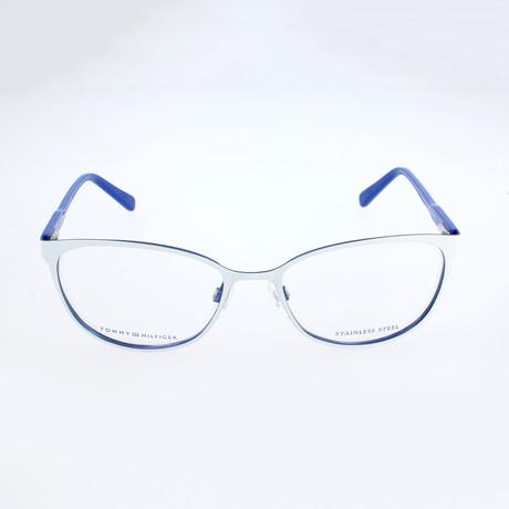 Women's 1319-VKY Optical Frames // White + Blue