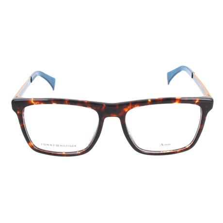 Men's 1436-HKP Optical Frames // Havana Gold