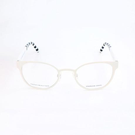 Women's 1484-TFE Optical Frames // White + Beige