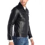 Ashbury Leather Jacket // Black (3XL)