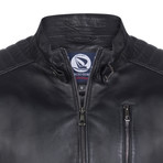 Embarcadero Leather Jacket // Black (S)