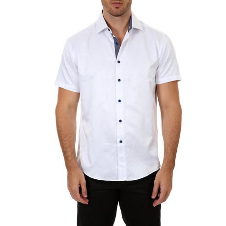 Brett Short Sleeve Button-Up Shirt // White (XS)