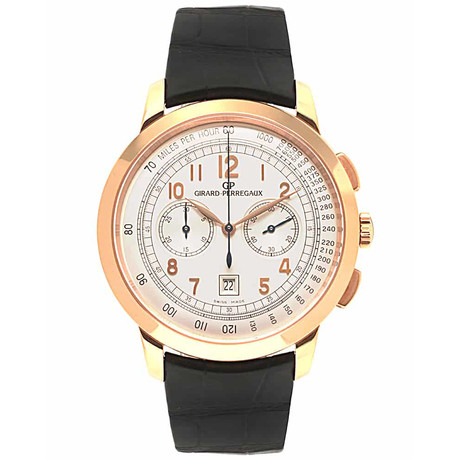 Girard Perregaux Vintage 1966 Chronograph Automatic // 49542.52.151.BK6A // Store Display