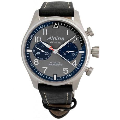 Alpina Startimer Pilot Chronograph Automatic // AL-860GB4FBS6 // Store Display