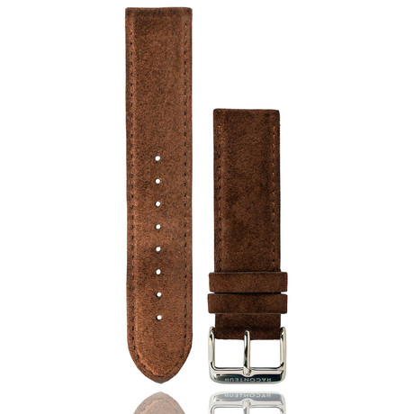 Chocolate Suede Strap