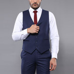 Brock 3-Piece Slim-Fit Suit // Navy (Euro: 46)