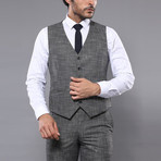 Jaron 3-Piece Slim Fit Suit // Gray (Euro: 44)