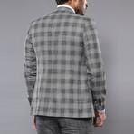 Jaron 3-Piece Slim Fit Suit // Gray (Euro: 50)