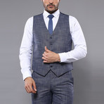Gilberto 3-Piece Slim Fit Suit // Light Blue (Euro: 54)