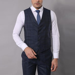 Gregory 3-Piece Slim-Fit Suit // Navy (Euro: 48)