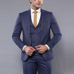 Tristian 3-Piece Slim Fit Suit // Navy (Euro: 52)