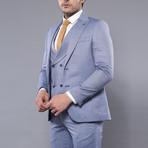 Joel 3-Piece Slim-Fit Suit // Light Blue (Euro: 44)