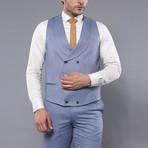 Joel 3-Piece Slim-Fit Suit // Light Blue (Euro: 50)