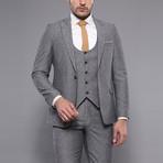 Javion 3-Piece Slim-Fit Suit // Gray (Euro: 50)