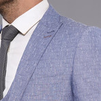 Richard 3-Piece Slim-Fit Suit // Light Blue (Euro: 44)