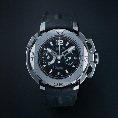 Clerc Hydroscaph Chronograph Automatic // CHY-157 // Store Display