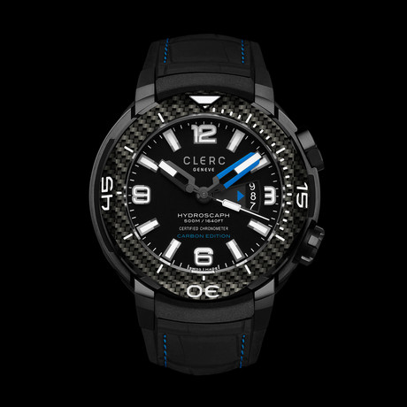 Clerc Hydroscaph H1 Chronometer Automatic // H1-4C-12R-8 // Store Display